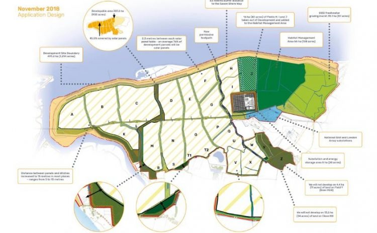 Largest Proposed Solar Farm in Europe, Cleve Hill, Submitted Planning Application